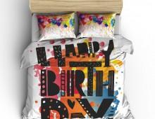 Постельное белье С днём рождения
