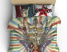 Постельное белье Рокенрол Rock