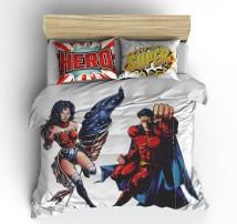 Постельное белье Супер герои