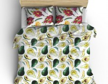 Постельное белье Авокадо