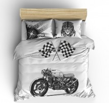 Постельное белье мотоцикл Байк
