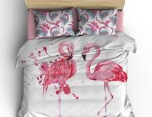 Постельное белье два фламинго