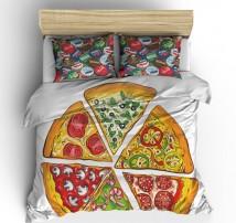 Постельное белье Пицца