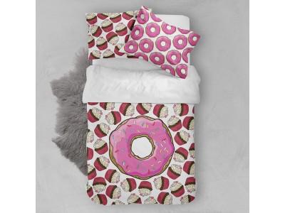 Постельное белье Пончик и Пироженое