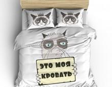Постельное белье Грустный кот