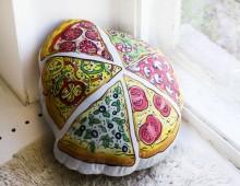 """Подушка декоративная двусторонняя """"Пицца"""""""
