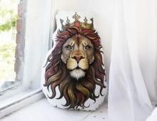 """Подушка декоративная двусторонняя """"Король лев"""""""