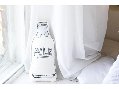 """Подушка декоративная двусторонняя """"Молоко"""""""