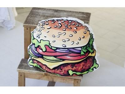 """Подушка декоративная двусторонняя """"Гамбургер"""""""