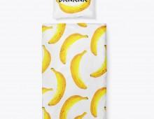 """Постельное белье в кроватку """"Банан"""""""