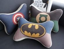 Косточки супергерои на подголовник авто