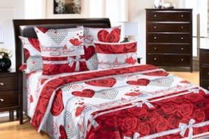 Свадебный подарок - постельное белье