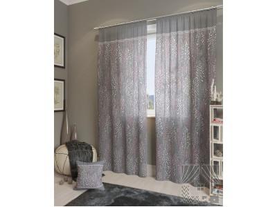 Классические шторы Альпина-К (серый), 401236