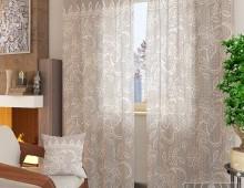 Классические шторы Вольтер-К (серый)