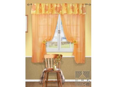Классические шторы Аранди (оранж.), 400878