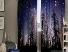 Фотошторы Звездное небо
