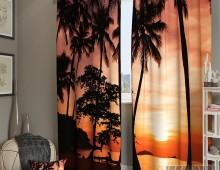 Фотошторы Вечерние тропики