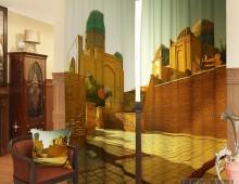 Фотошторы Рассвет в мечети