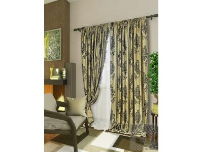 Классические шторы Амадей (серый), 401703
