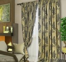 Классические шторы Амадей (серый)
