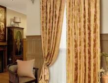 Классические шторы Аурель (розовый)