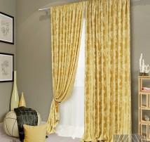 Классические шторы Аурель (сливочный)