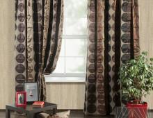 Классические шторы Сан-Франциско (коричневый)