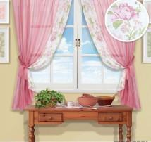 Классические шторы Витери (розовый)