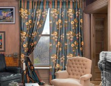 Классические шторы Касел