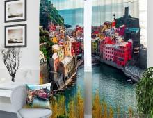 Фотошторы Краски Италии