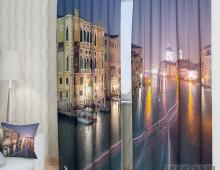 Фотошторы Ночная Венеция