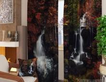 Фотошторы Осенний водопад