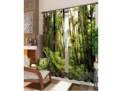 Фотошторы В джунглях, 400177