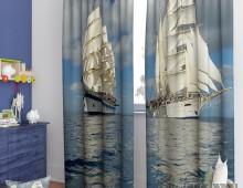 Фотошторы Белые паруса