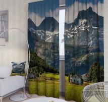 Фотошторы Дом в Альпах