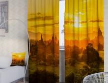 Фотошторы Закат у Храмов
