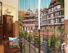 Фотошторы Краски Европейского города