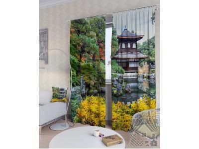 Фотошторы Восточный сад, 400351