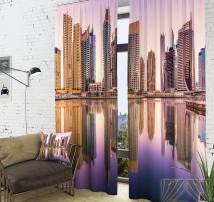 Фотошторы Вид на город с воды