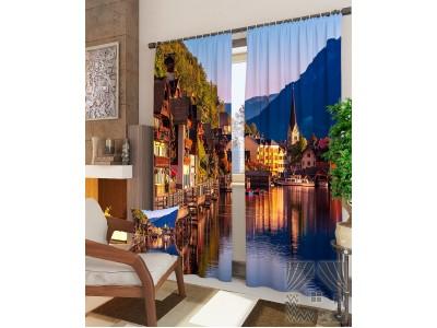 Фотошторы Городок в Австрии, 400661