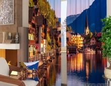 Фотошторы Городок в Австрии