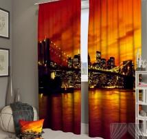 Фотошторы Закат в Манхетенне