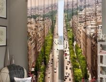 Фотошторы Над Парижем