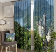Фотошторы Баварский замок