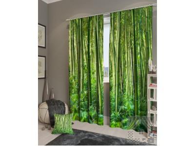Фотошторы Бамбуковые джунгли, 400587