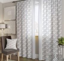 Классические шторы Байлот-К (серый)