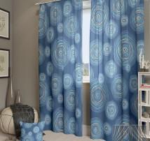 Классические шторы Ван Гог-К (синий)