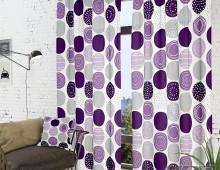 Классические шторы Роули-К (фиолет.)