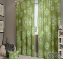 Классические шторы Ван Гог-К (зеленый)