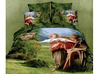 """комплект 2-х спального белья -Евро """"Гобелен""""  (наволочки 50x70), 300604"""